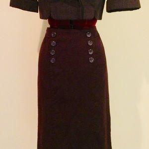 Deep Purple Skirt, size 8